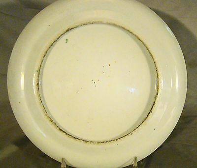 Excellent Early High Quality Painting Chinese Export Rose Medallion Plate 19th c 7