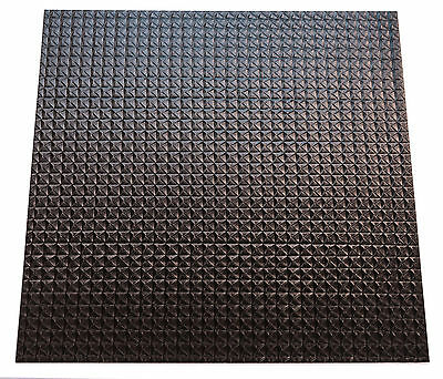 EcoTile Techno 2/' x 4/' White Lay-in Tile Mold Free Washable PVC Ceiling Tiles