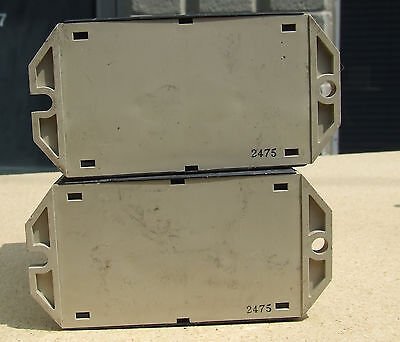 LOT SET of 2 Omron K2CU-F40A-E Heater Fault Detector Units with alarm f 5