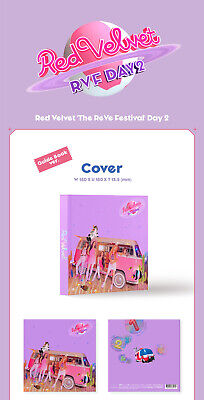 RED VELVET [THE REVE FESTIVAL DAY 2] Album GUIDE Ver. CD+POSTER+Book+Card SEALED 8