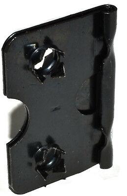 38mm BLACK EASEL STRUT HINGE PICTURE FRAMING FRAME HINGES HINGING SELF FIX 2