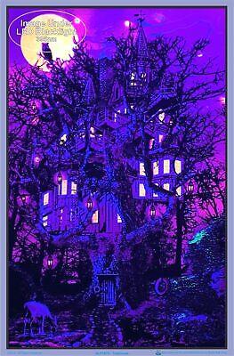 Treehouse Blacklight Poster 23 x 35 2
