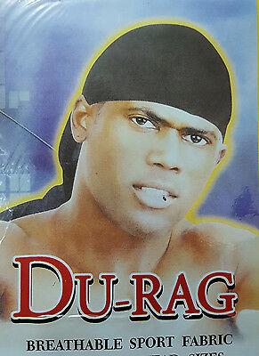 Men Women Durag Bandana Sports Du Rag Scarf Head Rap Tie Down Band Biker Cap UK 3