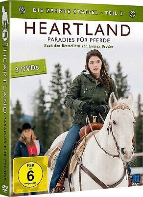 Heartland - Paradies für Pferde: Staffel 10.1+10.2 DVD Set Komplette Staffel 10 3