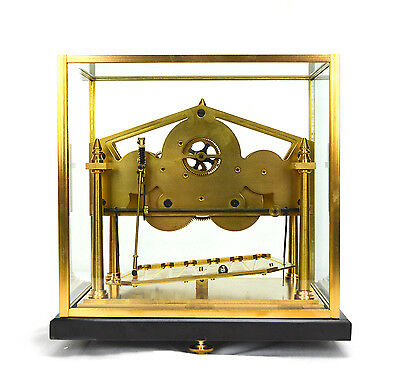 8 Day Miniature English William Congreve Rolling Ball Clock with Marble Base 3