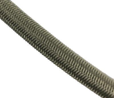 8 mm X 10 Meters Olive Élastique Corde Corde Arrimage Bateaux Remorques