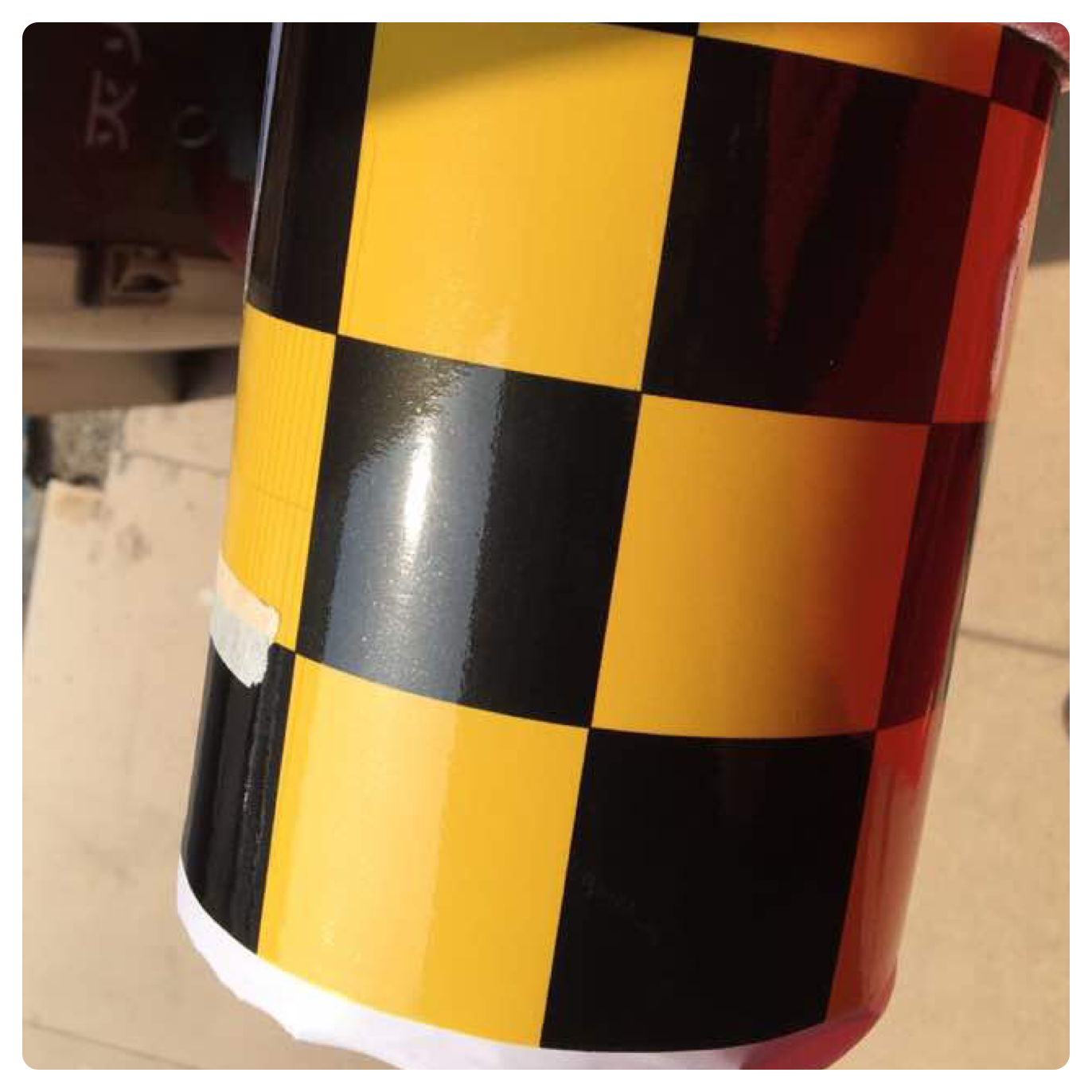 NEW CHECK CHEQUERED GLOSS VINYL CAR WRAP WRAPPING GRAPHIC sticker bomb Car Roof 8
