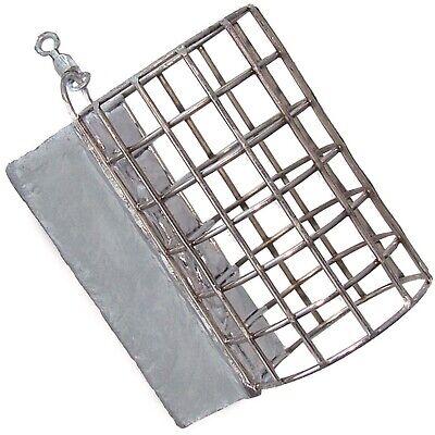 Futterkorb Metallfeeder Angelkorb Grundblei feeder Gewicht mit Wirbel 10 bis 60g