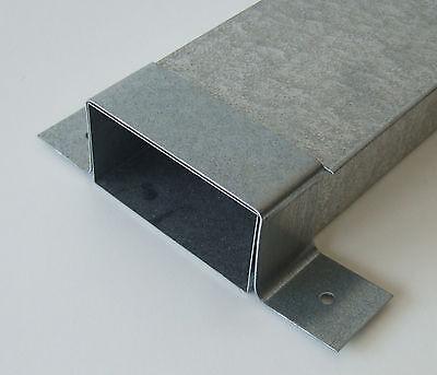 Schrag Metall Mini Kanal Flachbogen 30°  P484 Wohnraumlüftung Warmluftheizung