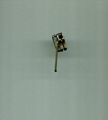 One Heavy Duty #7 Antique Brass Slider YKK for Metal Zipper New