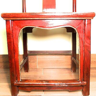 Antique Chinese High Back Chairs (5639) (Pair), Circa 1800-1849 9