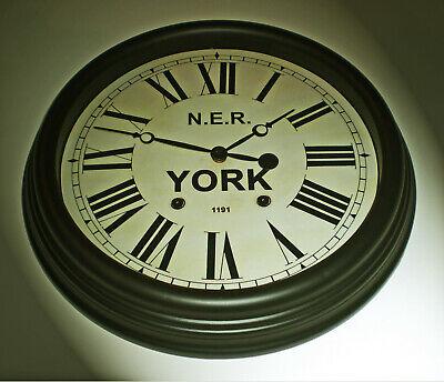 North Eastern Railway NER Victorian Style Clock, York Station 2