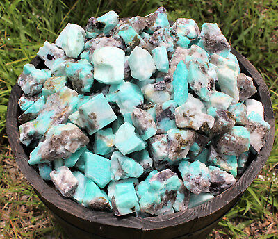 1 Piece of Natural Rough Amazonite (Crystal Healing Raw) 3