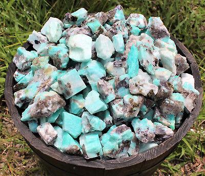 Raw Crystal Healing 200 Grams 1000 Carat Lot Bulk Natural Rough Indigo Gabbro
