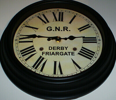 Great Northern Railway GNR Victorian Style Clock, Derby Friargate Station 4
