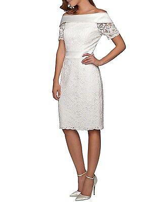 APART Brautkleid Bandeaukleid Damenkleid Hochzeit Chiffonkleid creme 61708 AWK