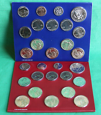 2012 ANNUAL US Mint Uncirculated Coin Set 28 P and D Minted Coins with COA 3