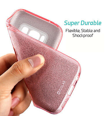 For Samsung Galaxy S9 Note 8 S8 S8 Plus Case Genuine Zuslab Rosy Sparkle Cover 8