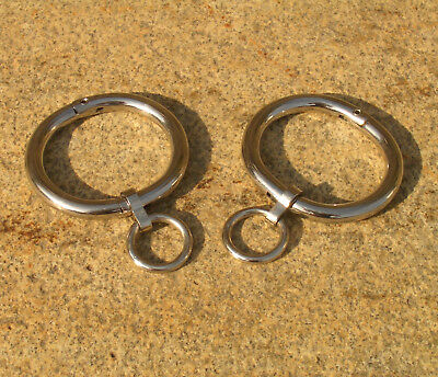 "Halsfessel Handschellen boundshop stainless steel KUB KB 895-N 12""-20"" Bondage 4"