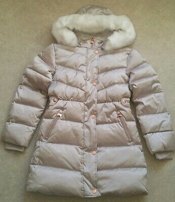 Baker by Ted BakerGirls' Ivory Padded Shower Resistant Coat Age 12 Years 5