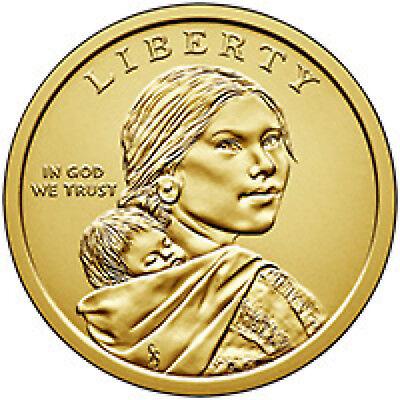 2019 P D SACAGAWEA NATIVE AMERICAN Coin Indian s Space Program Apollo 11 Moon PD 3