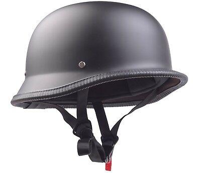 Retro Wehrmachtshelm Oldtimer Motorradhelm Motorrad Helm für Simson MZ AWO DDR 2