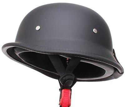Retro Wehrmachtshelm Oldtimer Motorradhelm Motorrad Helm für Simson MZ AWO DDR 6