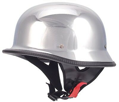 Retro Wehrmachtshelm Oldtimer Motorradhelm Motorrad Helm für Simson MZ AWO DDR 3