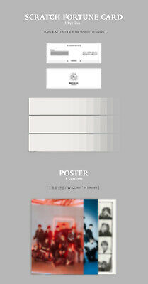 THE BOYZ REVEAL 1st Album CD+POSTER+Photo Book+Post Card+Film+Card+Fortune+GIFT 11