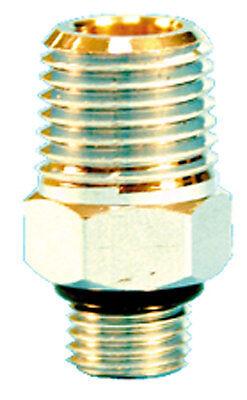 Trident 1//4 NPT Male X 3//8 NPT Male Regulator Сhromed Adapter