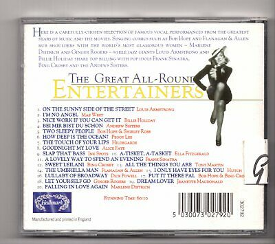 (IY41) The Great All-Round Entertainers, 20 tracks various artists - 1995 CD 2