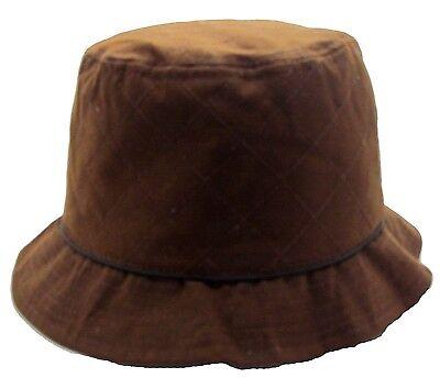 2de51c15ede33 ... Wax Bush Hat Bucket Waterproof Shower proof Rain Country Mens Ladies  Womens 4