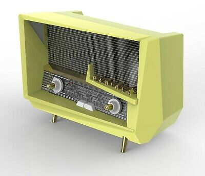 PHILIPS 20RL012 & RADIOLA RA248 'Le Corbusier', 2 x Radio Design in miniatura 8