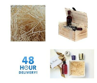 WOOD WOOL | HAMPER Fill | Packaging Filling Gift Basket Shred Wood Wool Pets 2