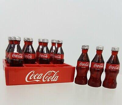 Coles Little Shop Mini Collectables - Coke bottles & crate 2