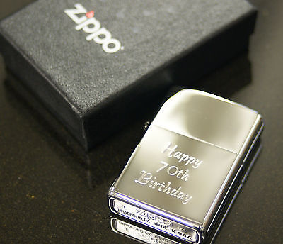 Personalised Zippo Lighters, free engraving, fast free delivery. Genuine Zippo 5