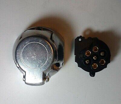 7 Pin Trailer Plug & Socket Aluminum 12V 12N Towing Car Van Maypole Mp25B+Mp24B 9