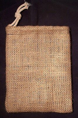 """""""d!e Powder"""" Large Natural Jute Dispensing Bag, For Use With Diatomaceous Earth 2"""