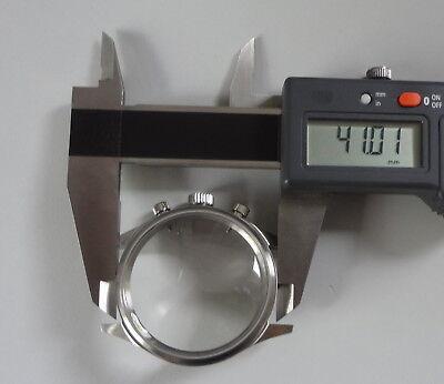 Uhren-Gehäuse für Uhr-Werk VALJOUX 7733 aus Edelstahl #229534 ungetragen