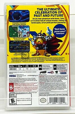 Sonic Mania  - Nintendo Switch - Brand New | Factory Sealed 2