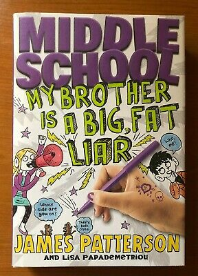 3 James Patterson Middle School Worst Years, Big Fat Liar & House of Robots 5