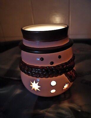 Yankee Candle Schneemann Jake Frost Votivkerzenhalter Kerzenhalter Teelicht
