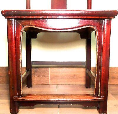 Antique Chinese High Back Chairs (5614) (Pair), Circa 1800-1849 9