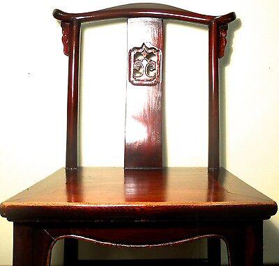Antique Chinese High Back Chairs (5614) (Pair), Circa 1800-1849 3