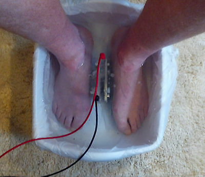 Ionic Detox Foot Bath - Practitioner Spa Package 7