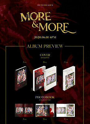 TWICE - More & More (9th Mini) CD+Pre-Order Benefit+Poster+Free Gift 2