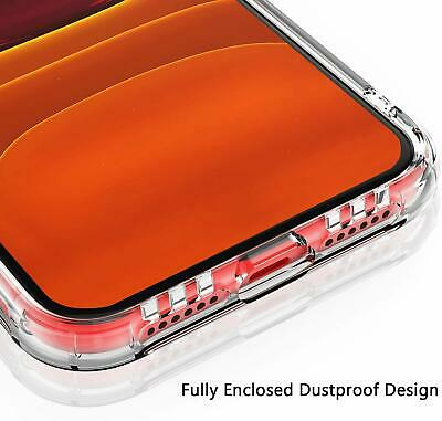 Shockproof Transparent Silicone Case Cover For iPhone 11 XS Max XR 8 7 Plus 6S 6 7