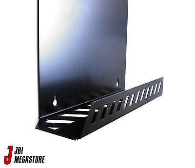 Xbox One Original Game Console Wall Mount Bracket Holder Vertical Black Steel 9