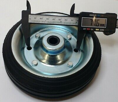 Spare Steel Wheel For Small Telescopic Jockey Wheel 160Mm Genuine Maypole Mp429 6