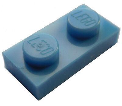 Lego 50x Platte 2x2 blau 3022 Neu blaue Platten blue Plate Plates New